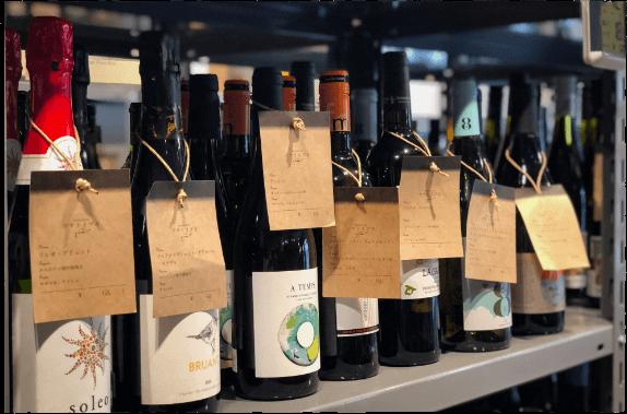 豊富なワインラインナップ